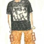 Mike Cullinane Wang Di sketch